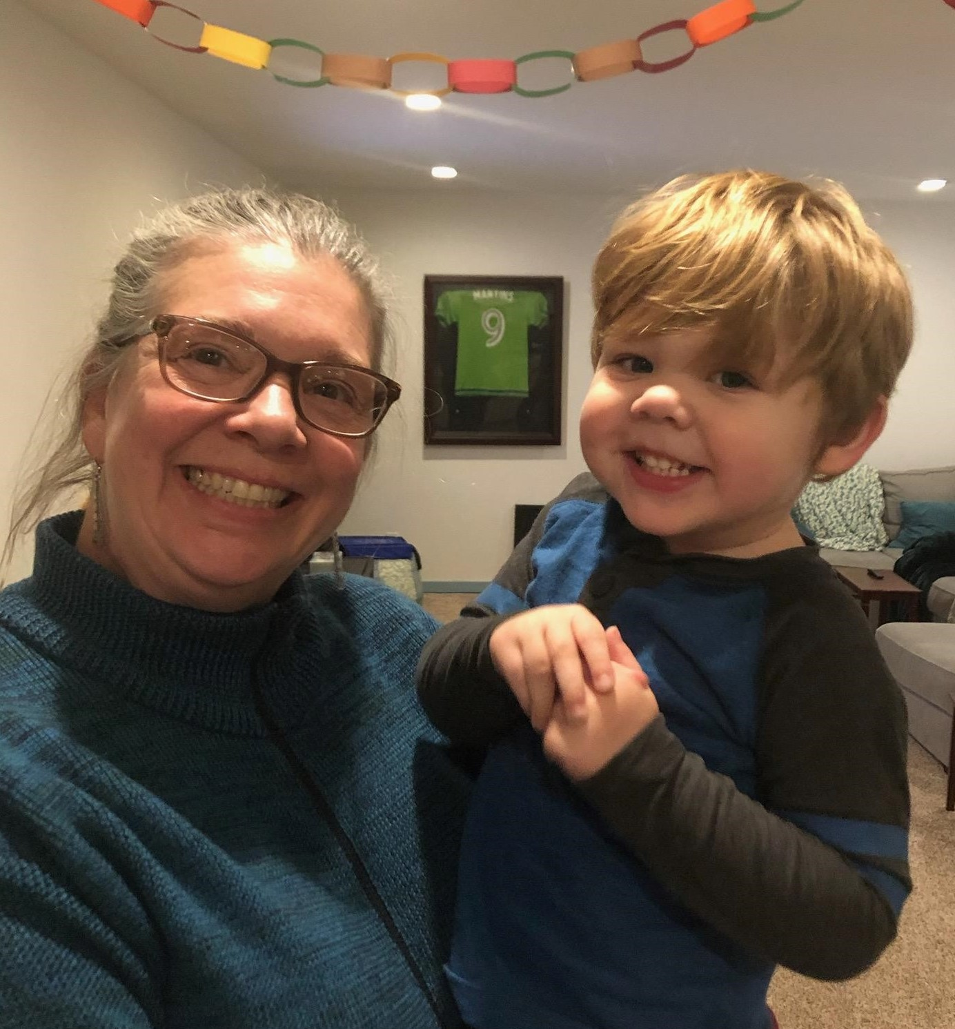 Theo and Aunt Karin